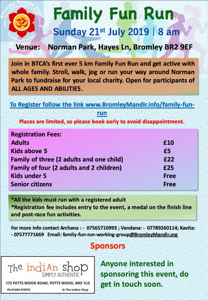 BTCA Family fun run